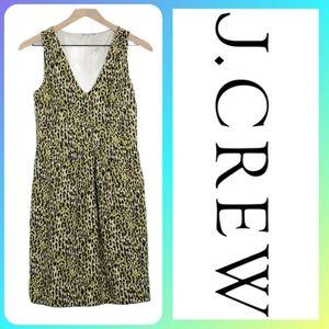J. CREW FLORAL A-LINE SHIFT DRESS W/ POCKETS